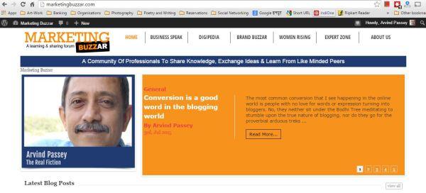 2015_07_03_MarketingBuzzar_Converson is a good word in the blogging world