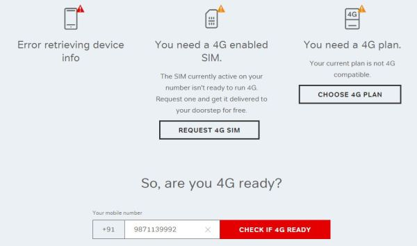 Airtel 4G_checked if my iPhone5 is compatible or not