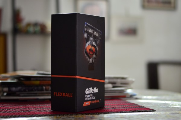 Gillette Fusion ProGlide with New FlexBall Technology