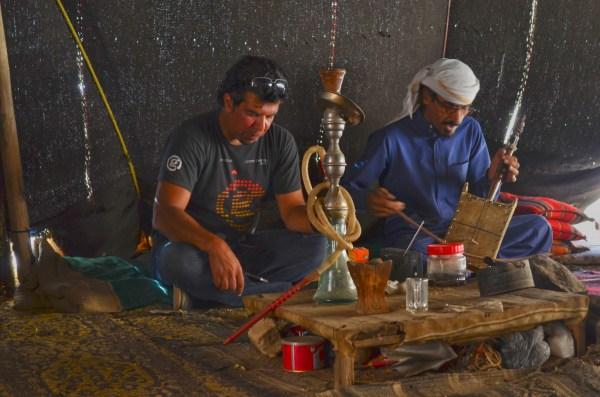 Jordan - the Beduoins. Jordanians love their hookah