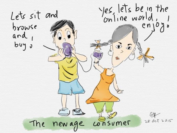 The newage consumers