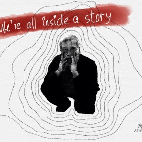 We're all inside a story