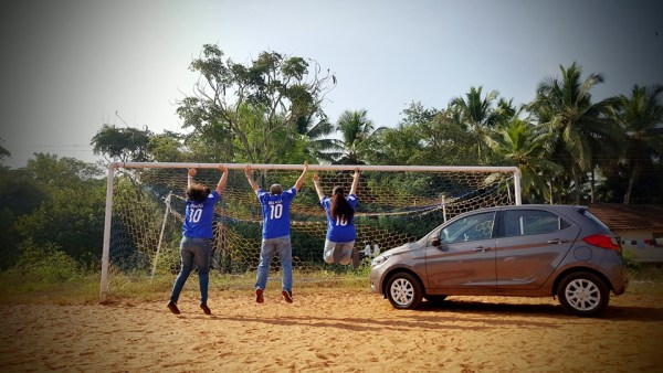 The get-set-go car... Tata Zica. Pic not clicked by us but the idea is ours.