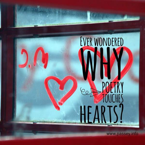 Ever wondered why poetry touches hearts?