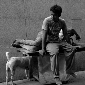 I'm not paid enough – Life on the streets of Delhi