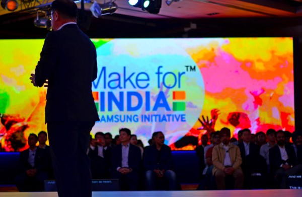 Make for India... Make in India... a Samsung thought