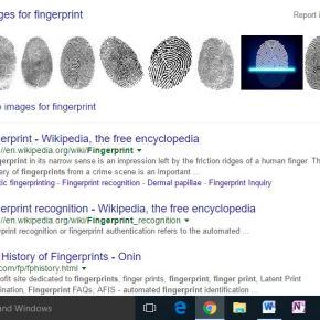 The Fingerprint Sensor
