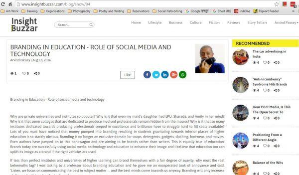 2016_08_18_InsightBuzzar_Branding in education