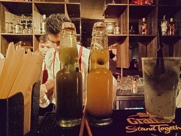 Farzi café - this is narangi and shikanji redefined