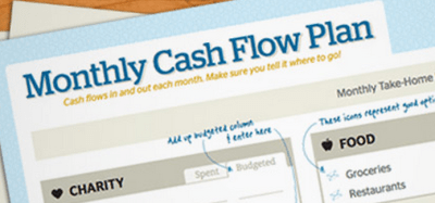 Free Monthly Cash Flow Plan Download From Dave Ramsey | Passionate Penny Pincher