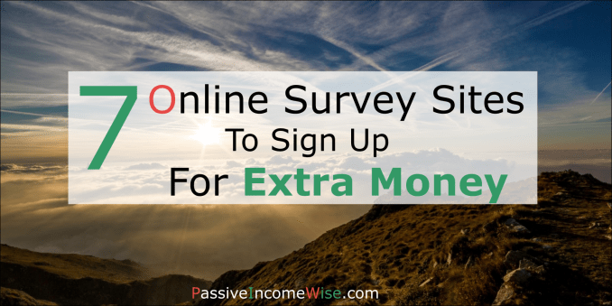 7 online survey sites to sign up for extra money