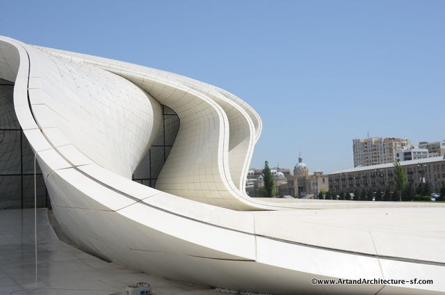 The Heydar Aliyev Cultural Center