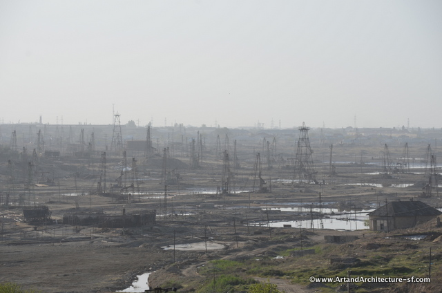 Oil fields of Azerbaijan