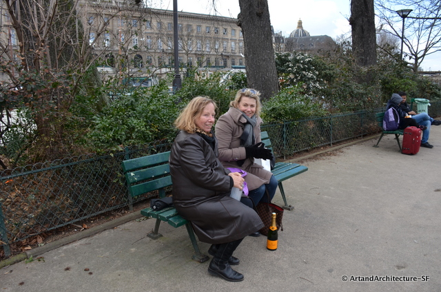 Lunch at Square du Vert Galant