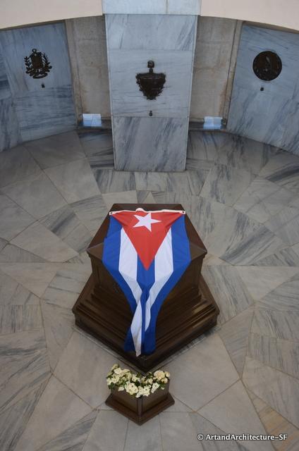 Marti's coffin