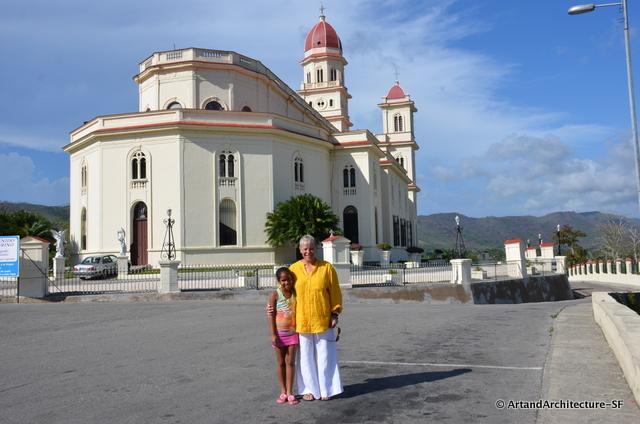 Jennifer and I at El Cobre