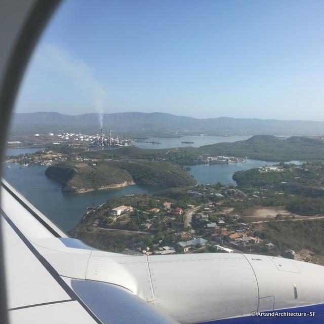 Flying to Cuba