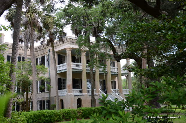 "Called ""The Castle"" this is the last Antebellum house built in Beaufort"