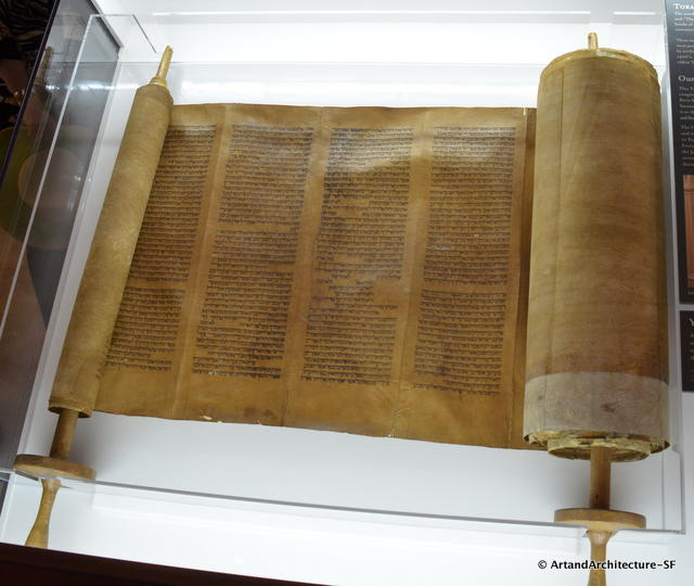 Torah at Mickve Israel Synagogue