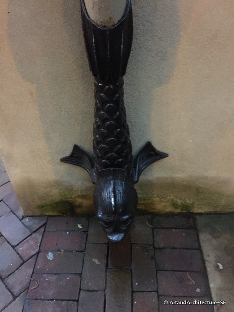 Wrought Iron Downspout