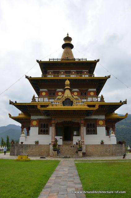 Chorten in Bhutan