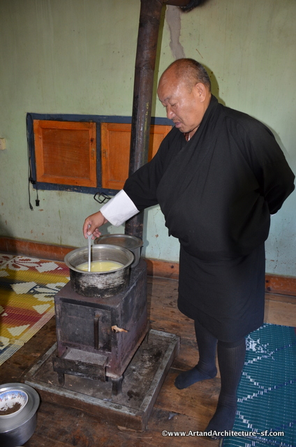 Cheese in Bhutan