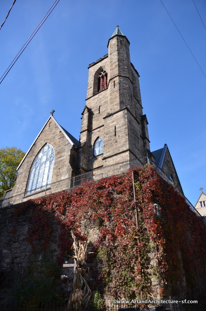 St Mark's Church in Jim Thorpe PA