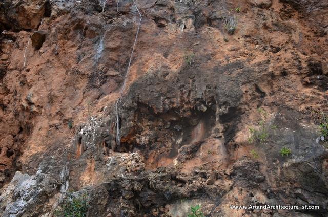 The cliffs around Rio Yumuri