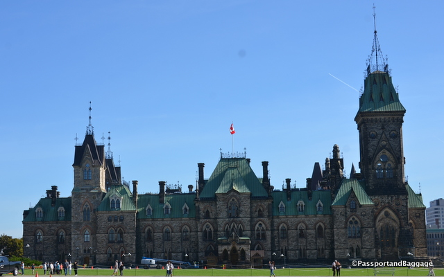 Built in the Victorian High Gothic Style the East Block also contains parliamentary offices.