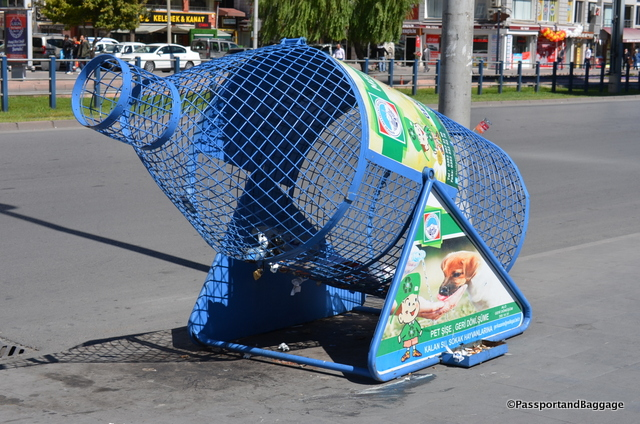An interesting recycle bin