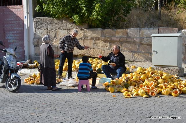 It is pumpkin harvest time in Turkey
