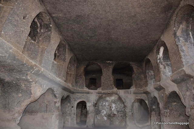 A room marked Monastery is one that is connected to the worship area via tunnels.