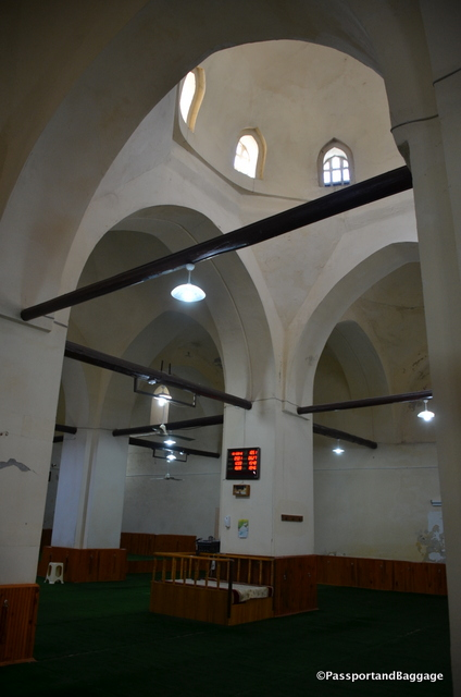 The interior of the Blue Seminary with its Seljuk architecture