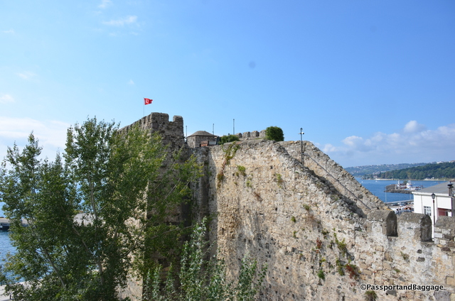 Fortress walls of Sinop, Turkey