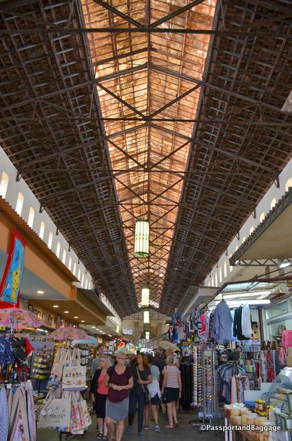 Inside the Municipal Market of Chania