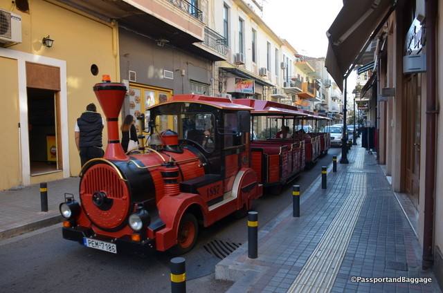 These little trains abound in Crete in all of the tourist locations