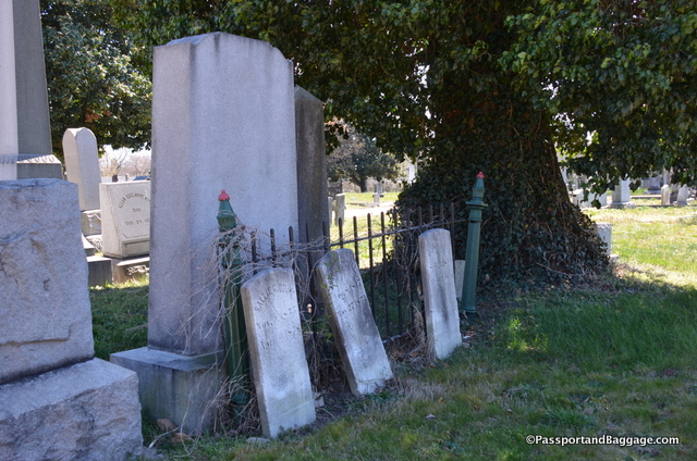 Some of the more neglected, and yet lovely graves