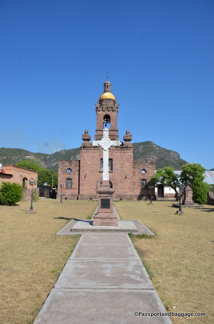 The Mission at Cerocahui, Mexico