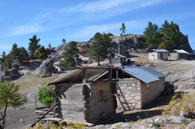 More homes on the Indian designated land.