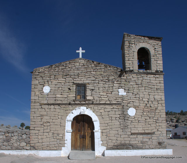 San Ignacio Mission is over 200 years old.