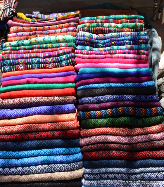 Colorful rebozos for sale