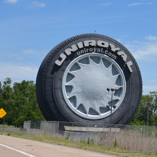 Giant Uniroyal Tire