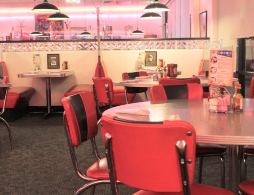 50s themed Blue Moon Diner is one of Farmington's Best Kept Secrets