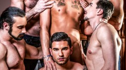 Icon Male Presents Brandon Wildes First Gangbang