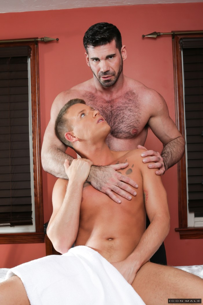 Gay Massage House 4:  Billy Santoro, Brandon Wilde