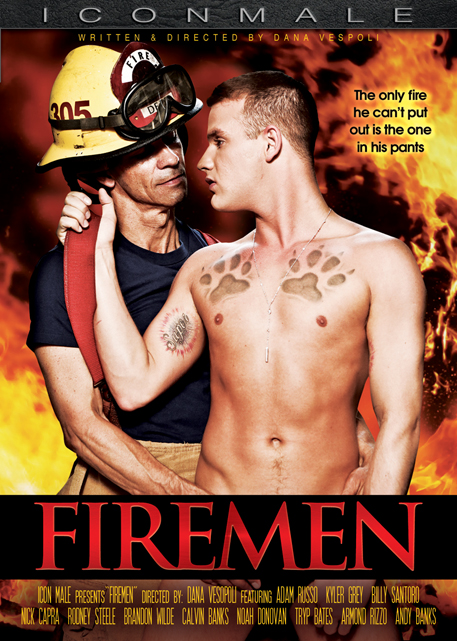 ICON MALE BRINGS THE HEAT IN DANA VESPOLIS 'FIREMEN'