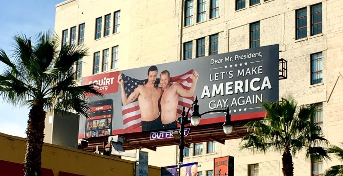 Trump, 'Let's Make America Gay Again'