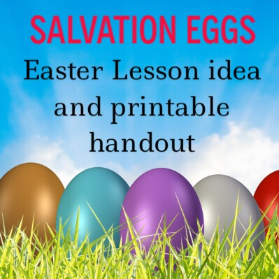 Salvation Eggs: an Easter lesson idea