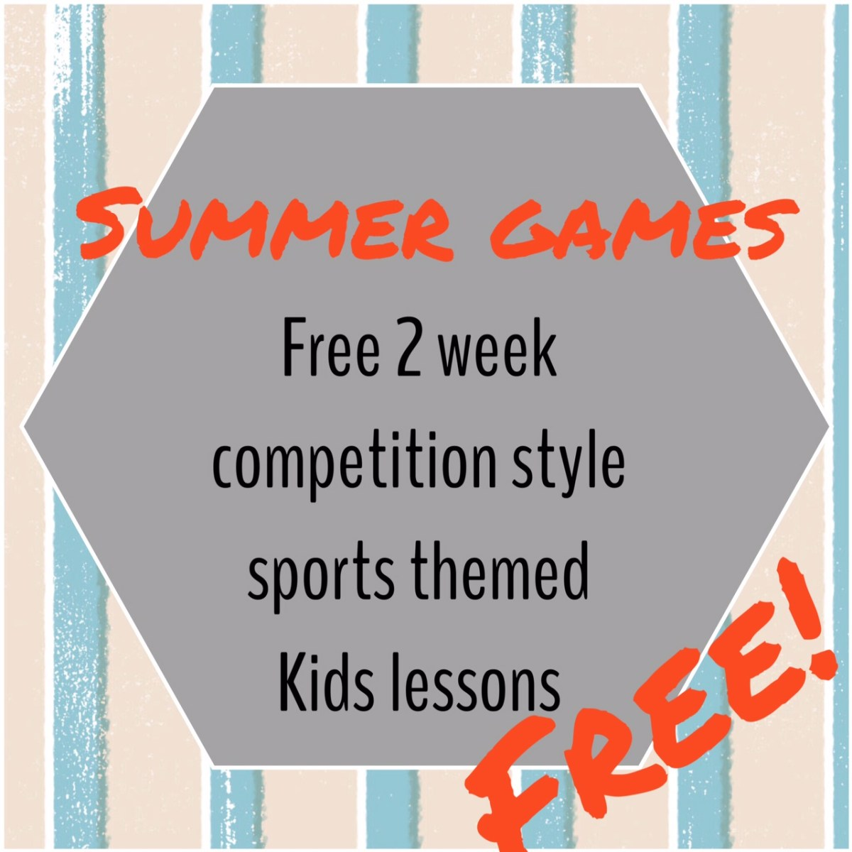 Summer Games kids ministry curriculum