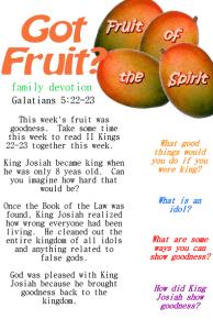 Got Fruit goodness